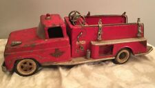Early 60's Tonka Toy Ford Cab Suburban Pumper Fire Truck