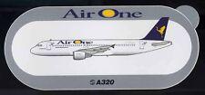 STICKER originale Airbus Air One AIRONE A320 320 - nuovo
