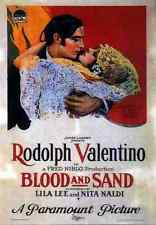 Film Blood And Sand 1922 01 A4 10x8 Photo Print