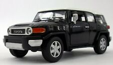 "Kinsmart Toyota FJ Cruiser SUV off road 1:36 scale 5"" diecast model car Black"