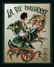 TOUT A LA CHINE  French Dragon Lady La Vie Parisienne 8x10 Herouard Art print