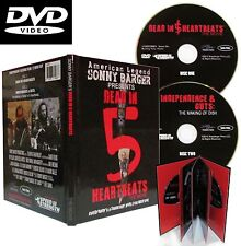 Hells Angels' Sonny Barger's 'Dead in 5 Heartbeats' movie -2 Disk DVD/Book set