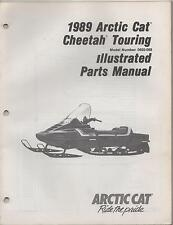 1989 ARCTIC CAT SNOWMOBILE CHEETAH TOURING  p/n 2254-493 PARTS MANUAL (992)