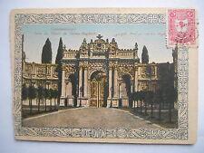 """CPA """"Constantinople - Porte du palais de Dolma Baghtche"""""""