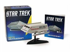 RUNNING PRESS Star Trek TOS Light-Up Shuttlecraft Kit Classic KIRK NEW