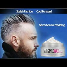 NEW Long-lasting random style Gel Men's Trendy Silver Grey Hair Wax Makeup Mud