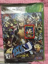New Sealed Persona 4: Arena Ultimax Day One 1 Edition (Xbox 360, 2014)
