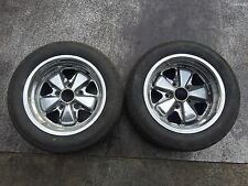 "Porsche 911 15x8 Fuchs Wheels Pair 15"" x 8"""