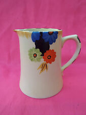 EMPIRE IVORY WARE Art Deco Handcraft Hand Painted Water Jug