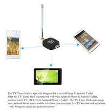 Mni Micro USB DVB-T HD TV Tuner Stick Dongle Receiver for Android Phone Tablet