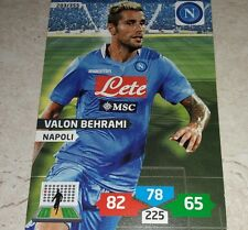 CARD ADRENALYN 2013/14 CALCIATORI PANINI NAPOLI BEHRAMI CALCIO FOOTBALL