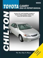 Chilton Repair Manual Toyota Camry, 2002-06 # 68202