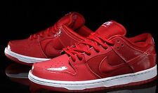 DS MENS NIKE DUNK LOW PRO SB RED 304292 616 SZ 8 NOBOXLID MAX AIR FREE SHIP