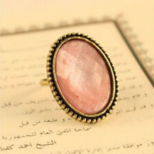 Chic Retro Style Big Rhinestone Ring Vintage Stone Fashion Girl New 6 Colors