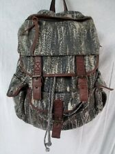 ECOTE BACKPACK Shoulder Rucksack Travel School Book BAG Faux Leather
