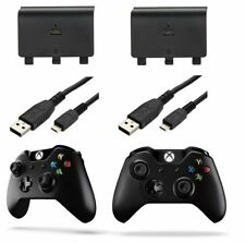 Brand New XBox One Controller Charge and Play Kit Battery Pack - 2 Pack