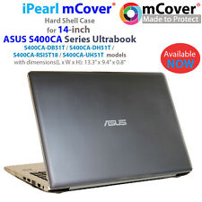 "mCover® HARD Shell CASE for 14"" ASUS S400CA series Touchscreen Ultrabook Laptop"