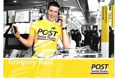 CYCLISME carte  cycliste GREGORY POST équipe POST SWISS TEAM