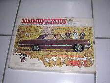 1963 Chevrolet Communication Selling Kit, Phonographs, Films, Posters, Booklets