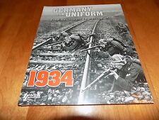 GERMANY IN UNIFORM From Reichswehr to Wehrmacht WWII Nazi Uniforms Book New