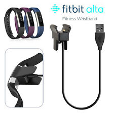For Fitbit Alta USB Charging Cable Replacement Charger Cord Smart Watch Tracker