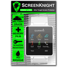 ScreenKnight Garmin VivoActive SCREEN PROTECTOR invisible military shield