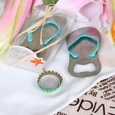 Gift Boxed Shower Beach Party Corkscrew Wedding Favors Bottle Opener Flip-flop