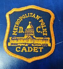 METROPOLITAN POLICE CADET WASHINGTON DC SHOULDER PATCH