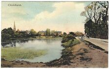 Chiselhurst (Bromley) early colour postcard by G Cooling unused c1910