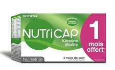 NUTRICAP keratin vitality 90 capsules - anti hair loss, volume 3 MONTHS SUPPLY