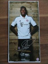 Handsignierte AK Autogrammkarte *DAVID ALABA* Bayern München 13/14 2013/2014