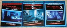 Horror Blu-ray Disc Lot - Paranormal Activity 1, 2 & 3 (Used)