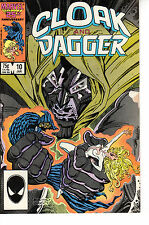 CLOAK AND DAGGER #10 JANUARY 1987 BY MARVEL COMICS GOOD / VERY GOOD (3.0)