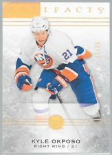 13/14 Artifacts Gold Spectrum Kyle Okposo /25 71 Islanders