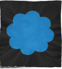 POLLY APFELBAUM 'Power to the Flower (Blue)' 2007 SIGNED Unique Paper Pulp Print