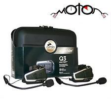 Cardo Scala Rider Q3 Multiset Motorcycle Bluetooth Intercom System - BTSRQ3MS