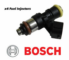x4 BOSCH 2200CC HIGH IMPEDANCE FUEL INJECTORS FOR 99-00 HONDA CIVIC SI B16A3 EM1