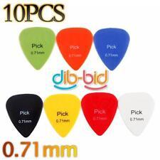 10 pcs Ombudsman 0.71mm liso para guitarra eléctrica Plectro Bajo Acústico OZ ES