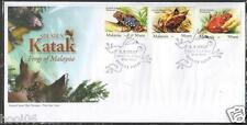 MALAYSIA 2007 Species Frogs of M'sia FDC