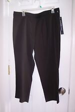 NEW Womens Christy Girl 16 Black Crop Dress Pants Price Reduced!!!