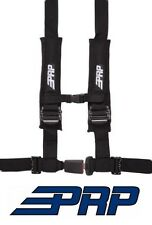 PRP Suspension Seat 4 Point 4.2 Safety Harness Belt - Black for RZR & Universal