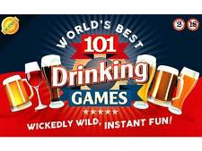 101 DRINKING GAMES Birthday Fathers Day Christmas Gift CLEARANCE SALE