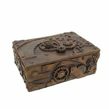 Unique Steampunk Mechanical Inspired Jewelry and Trinket Box decor NEW