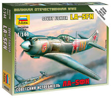 6255 SOVIET LaGG LA-5M FIGHTER - ZVEZDA 1/144 RUSSIAN - WW2 FLAMES OF WAR