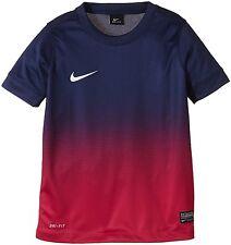 Nike Jungen Short Jersey Top Kinder T-Shirt Trainingsshirt Dri-FIT Gr. XS Nr9
