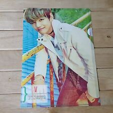 V BTS Photo L shaped file document holder folder  KPOP Star GOODS New Gift