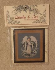 Lavender And Lace Cross Stitch Pattern Angel of the Sea Chart New