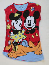 womens 2X 3X Mickey Minnie Mouse nightgown pajamas nightshirt new pluto 20w-24w