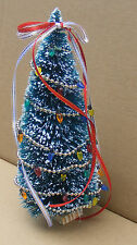1:12 Scale Decorated Christmas Tree Dolls House Miniature Garden Accessory Large