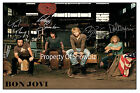 BON JOVI - BAND AUTOGRAPHED HUGE POSTER - GREAT GIFT - GET IT NOW!!!!!!!!!!!!!!
